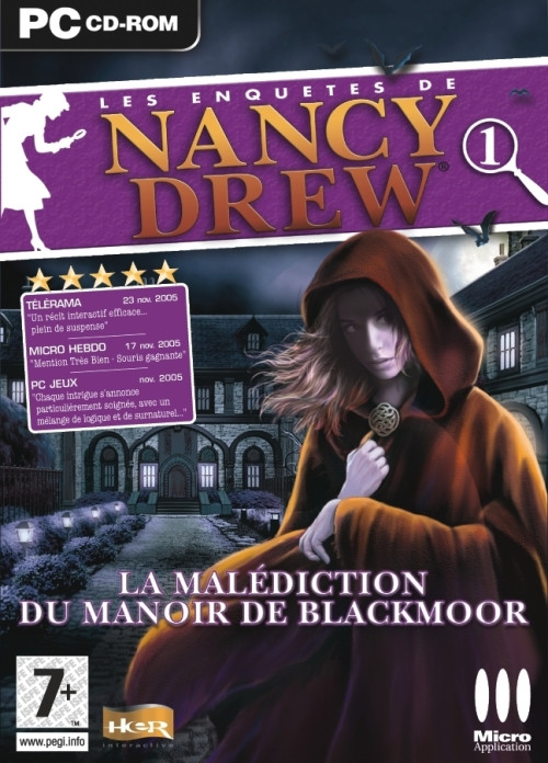 nancy drew la malédiction du manoir de blackmoor