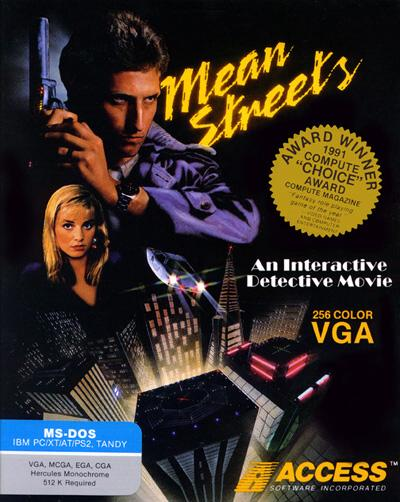 Box cover from Mean Streets