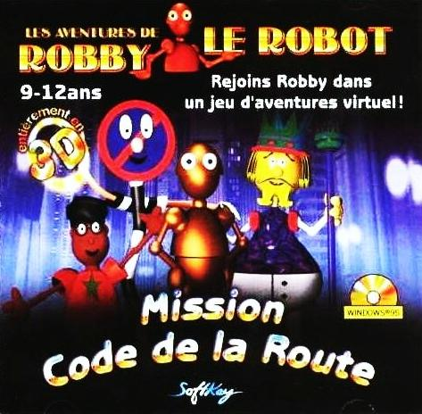 les aventures de robby le robot mission code de la route plan te aventure. Black Bedroom Furniture Sets. Home Design Ideas