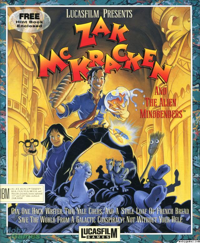 Zak McKracken The Alien Mindbenders