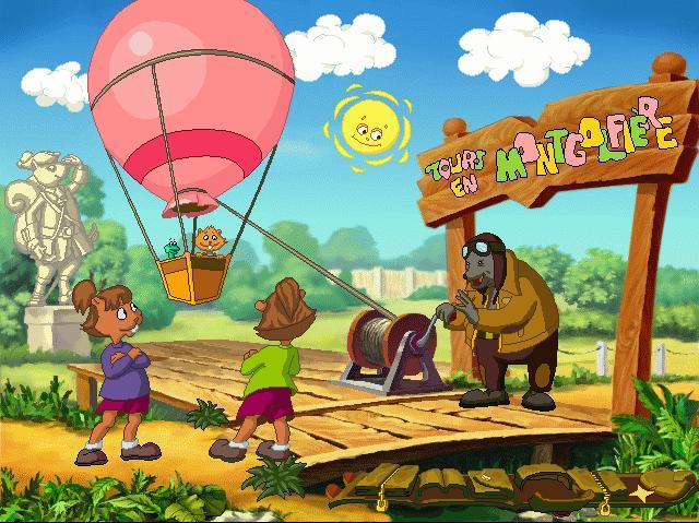 grégoire et la montgolfière